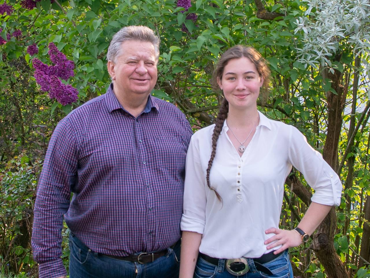 Tina Falkner und Reinhard Schuhmann - Vorstand der SPD Weißenohe